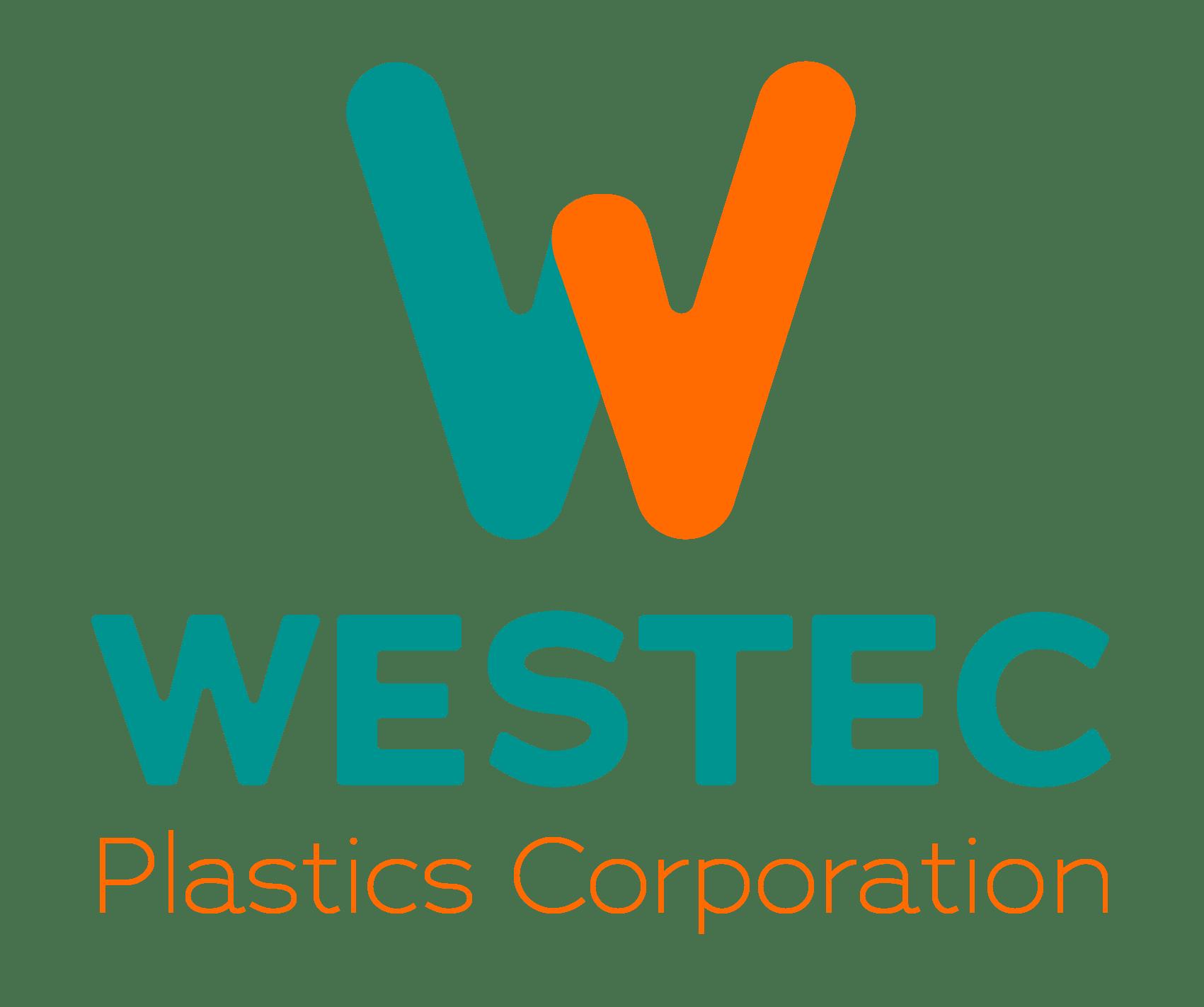 Westec Plastics Corporation Logo Vertical
