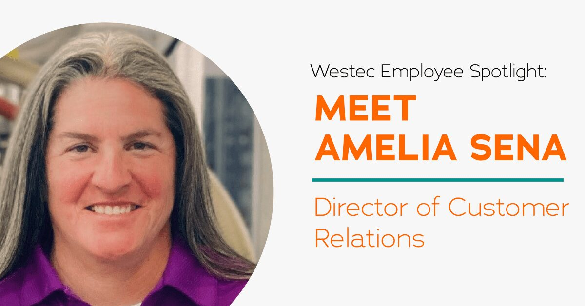 Amelia Sena, Director of Customer Relations