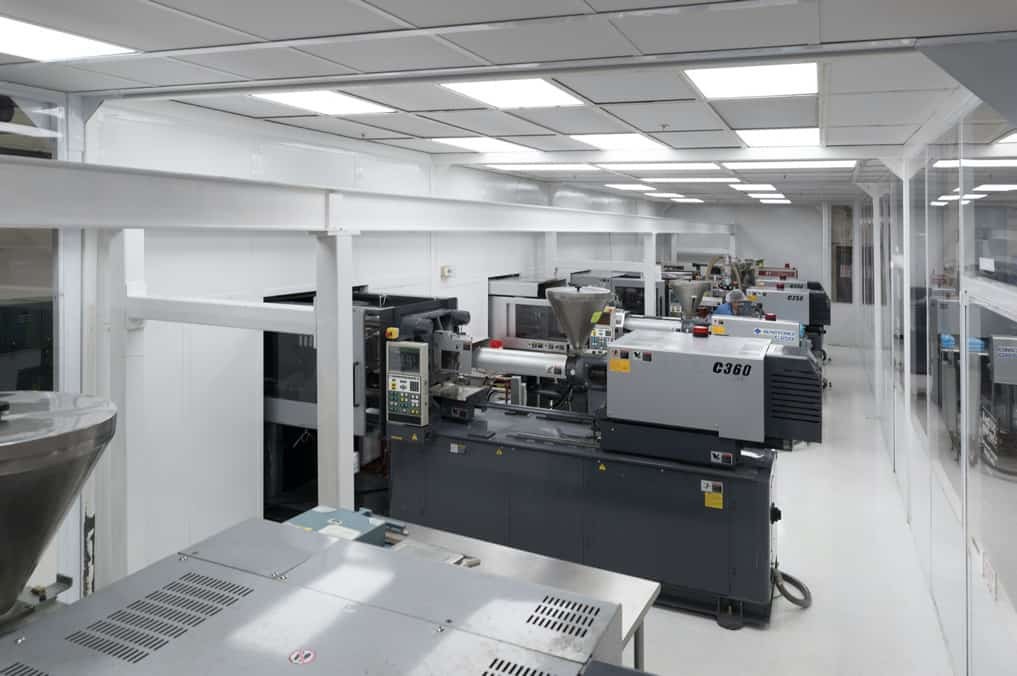 ISO Class 8 Molding Clean Room