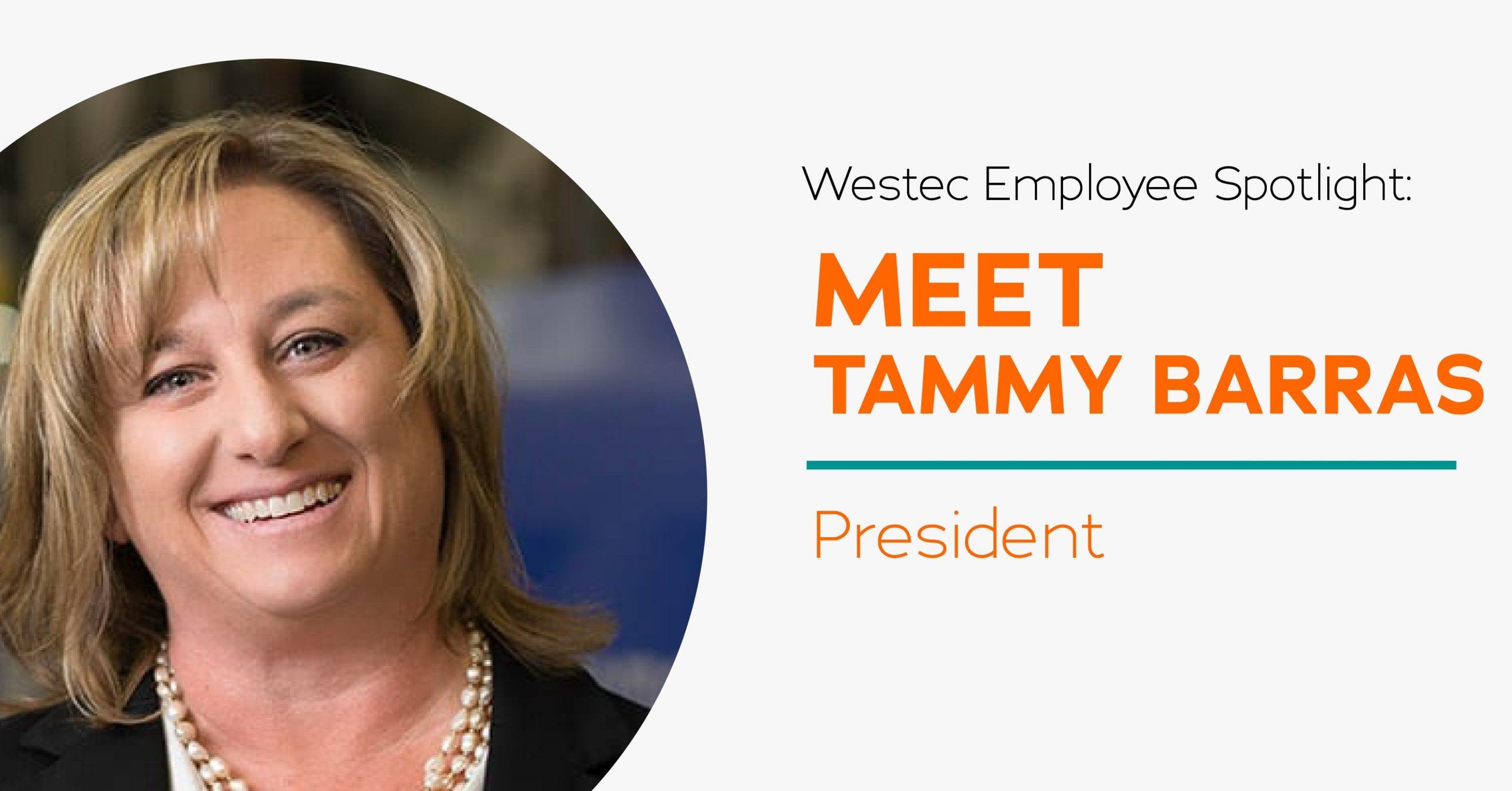 Tammy Barras President of Westec Plastics